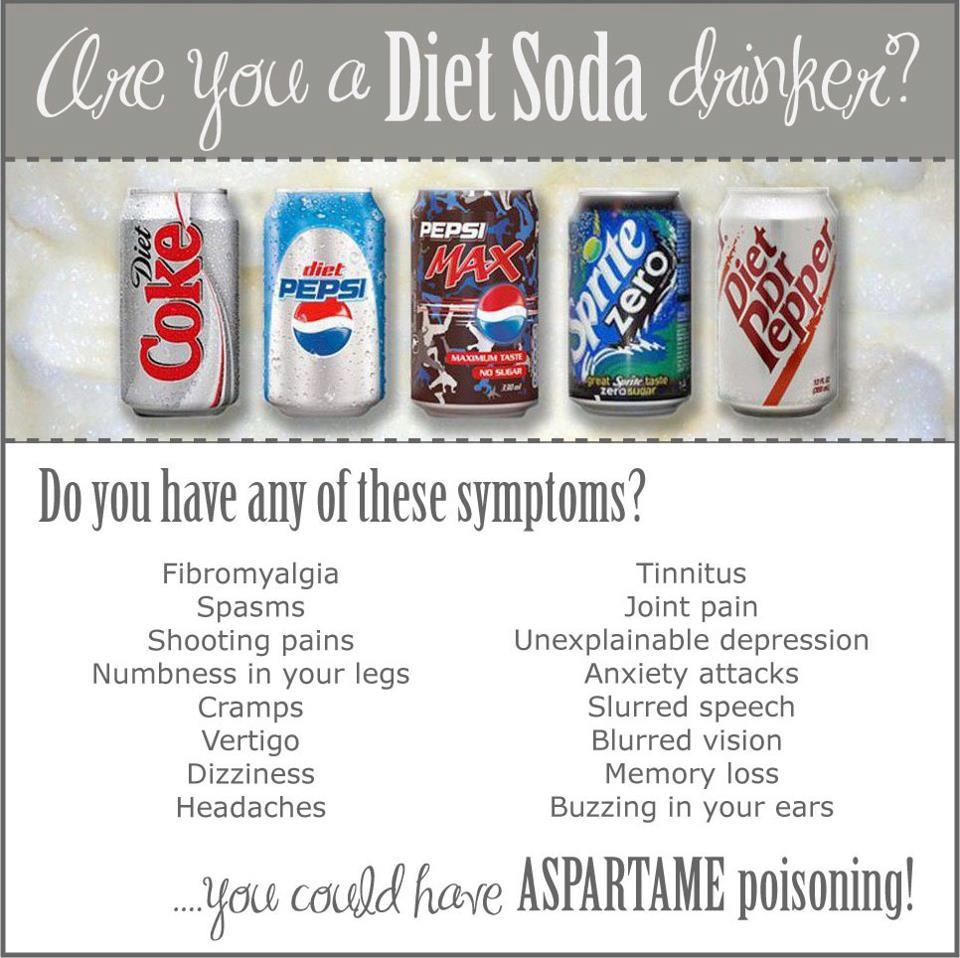 how much aspartame in a diet 7up can